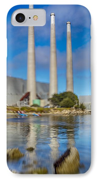 Morro Bay Power Plant Lens Baby IPhone Case by Scott Campbell