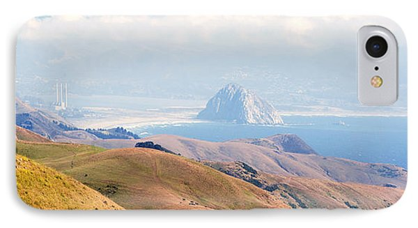 Morro Bay Rock Vista Overlooking Highway 46 Paso Robles California Phone Case by Artist and Photographer Laura Wrede
