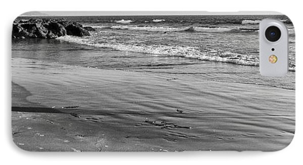 Morro Beach Walk IPhone Case by Terry Garvin