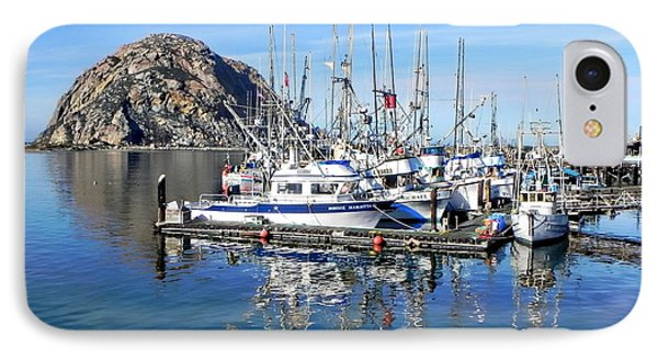 IPhone Case featuring the photograph Morro Rock by Kathy Churchman