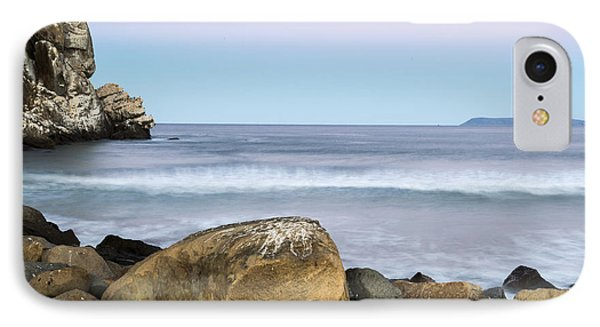 Morro Rock Morning IPhone Case by Terry Garvin