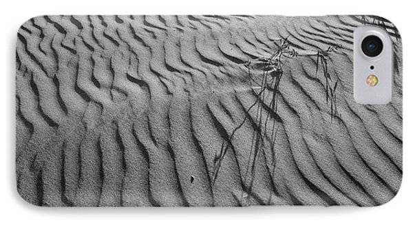 IPhone Case featuring the photograph Morro Strand Beach Ripples by Terry Garvin