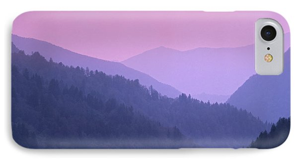 Morton Overlook, Great Smoky Mountains IPhone Case