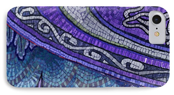 Mosaic Abstract Phone Case by Tony Rubino