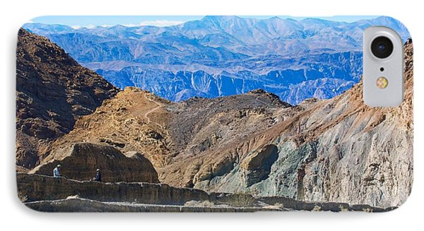 IPhone Case featuring the photograph Mosaic Canyon Picnic by Stuart Litoff