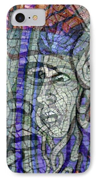 Mosaic Medusa Phone Case by Tony Rubino