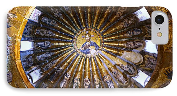 Mosaic Of Christ Pantocrator IPhone Case by Stephen Stookey