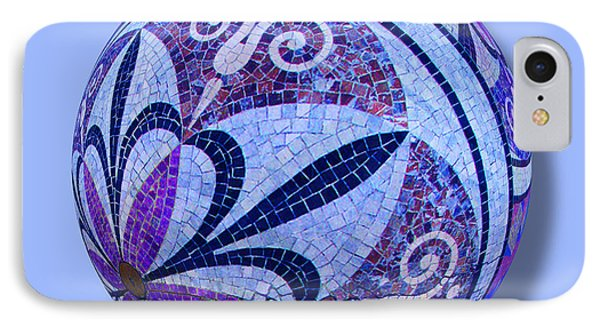 Mosaic Orb 1 Phone Case by Tony Rubino