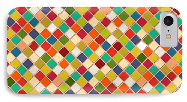 Mosaico IPhone 7 Case by Sharon Turner