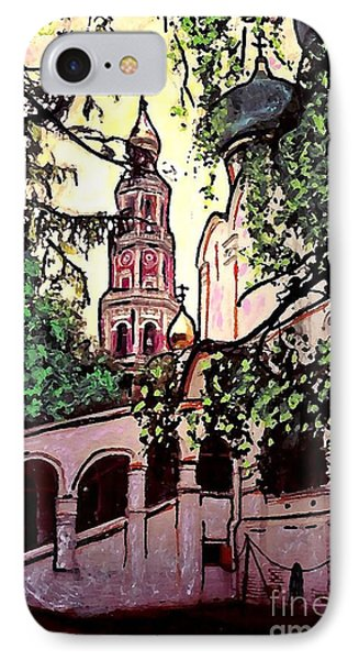Moscow Church Phone Case by Sarah Loft