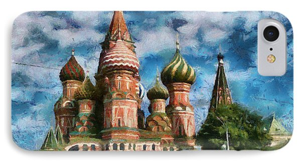 Moscow Kremlin  IPhone Case by Georgi Dimitrov