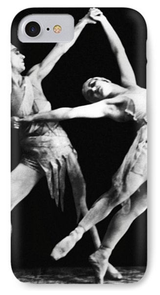 Moscow Opera Ballet Dancers IPhone Case by Underwood Archives