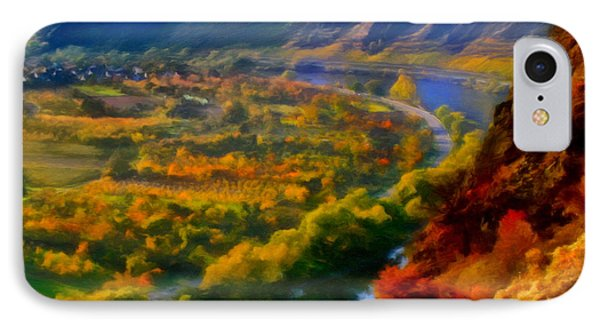 Mosel In The Fall Phone Case by Michael Pickett