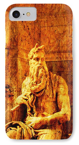 Moses Phone Case by Stefano Senise