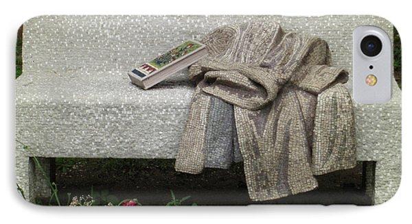 Mosiac Bench Phone Case by Deborah Smolinske