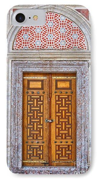 Mosque Doors 04 IPhone Case by Antony McAulay