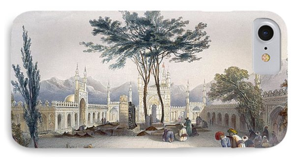 Mosque Of Goolaum Hoossein Huzrut-jee Phone Case by James Rattray