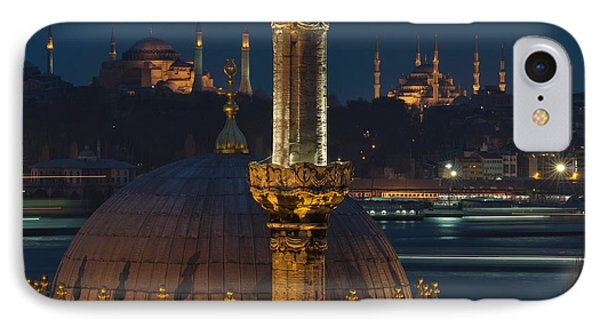 Mosques In Istanbul Phone Case by Ayhan Altun