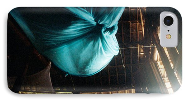 Mosquito Net In A Bungalow, Chiang Mai IPhone Case by Panoramic Images