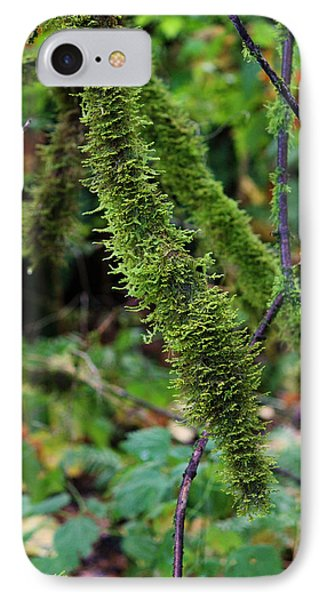 Moss Beauty Phone Case by Jeanette C Landstrom
