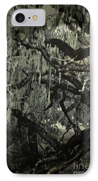 IPhone Case featuring the photograph Moss Covered Oak by Gary Brandes