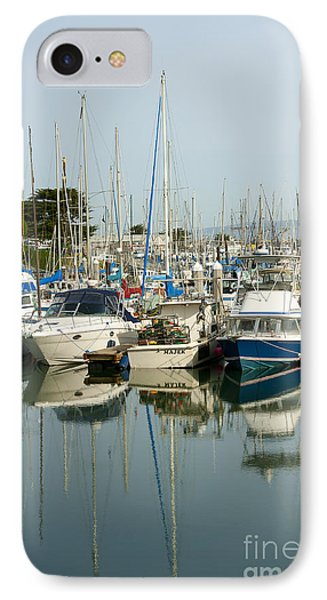 Moss Landing Boat Harbor Phone Case by Artist and Photographer Laura Wrede