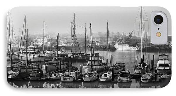 Moss Landing Harbor IPhone Case