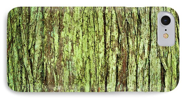 IPhone Case featuring the photograph Moss On Tree Bark by Crystal Hoeveler
