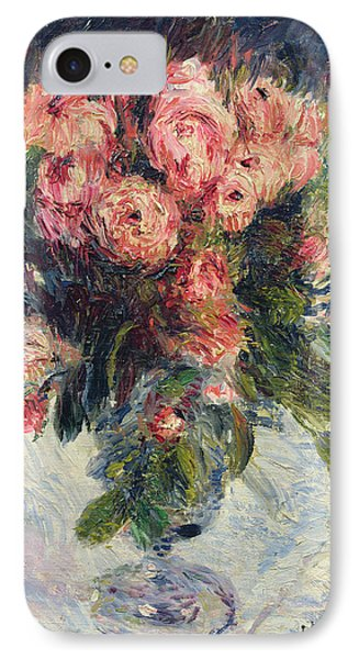 Moss Roses IPhone Case by Pierre Auguste Renoir