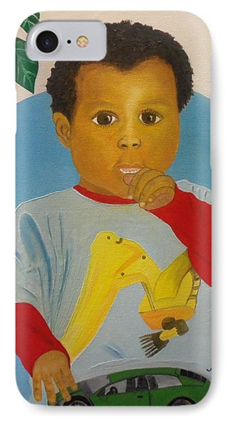 Mossiah My Grandson IPhone Case by Nicole Jean-Louis