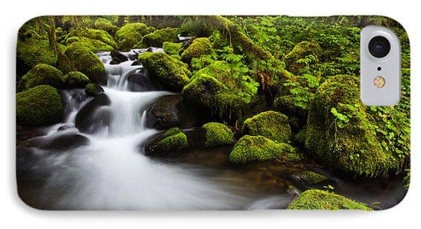 Mossy Arch Cascade IPhone Case by Darren  White