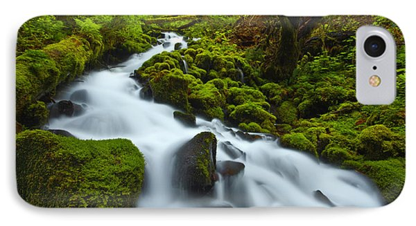 Mossy Creek Cascade Phone Case by Darren  White