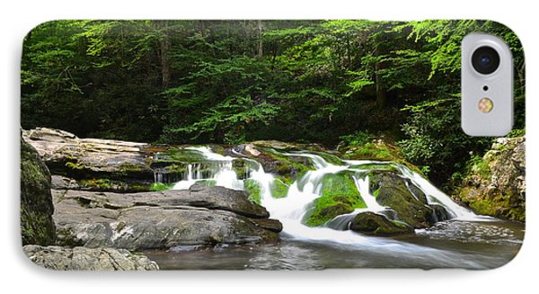 Mossy Falls Phone Case by Frozen in Time Fine Art Photography