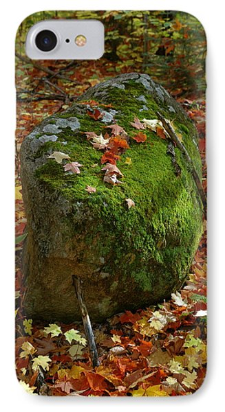IPhone Case featuring the photograph Mossy Rock by Sandra Updyke