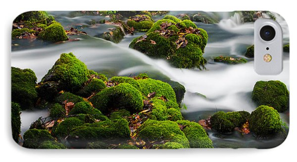 Mossy Spring Phone Case by Shannon Beck-Coatney