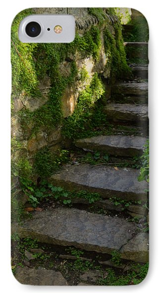 Mossy Steps Phone Case by Carla Parris