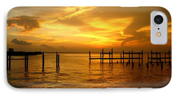 IPhone Case featuring the photograph Most Venerable Sunset by Kathy Bassett