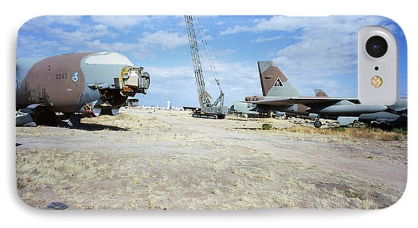 Mothballed B-52gs IPhone Case