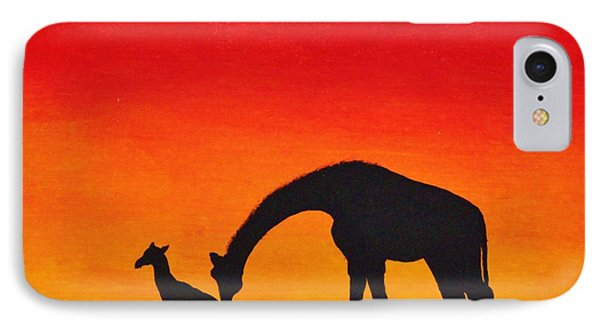 Mother Africa 2 IPhone Case by Michael Cross