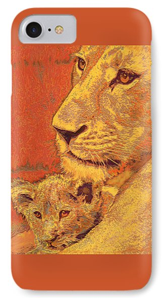 Mother And Cub IPhone 7 Case