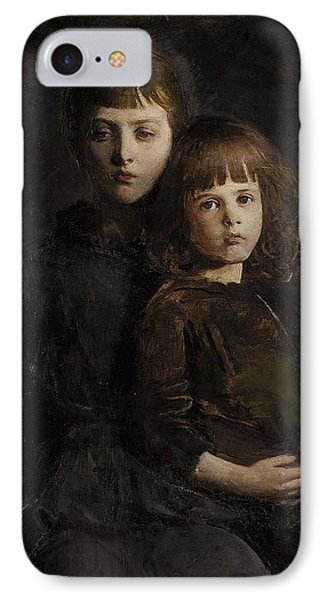 Mother And Daugther IPhone Case
