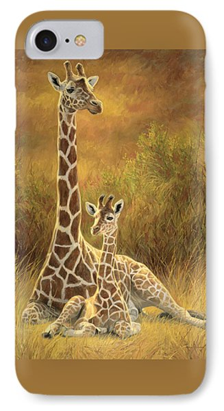 Mother And Son IPhone 7 Case by Lucie Bilodeau