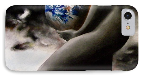 Mother Earth IPhone Case by Chelle Brantley