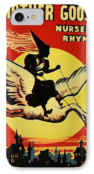 Mother Goose Phone Case by Bill Cannon