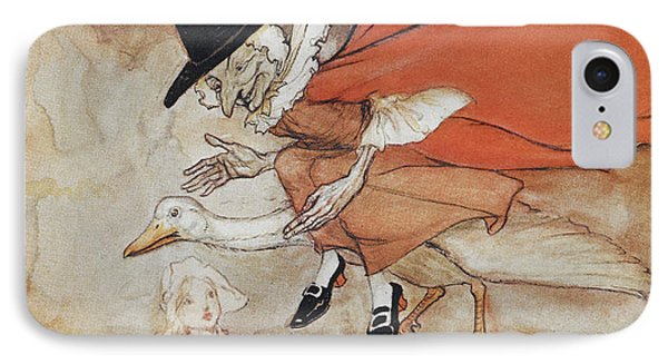 Mother Goose IPhone Case by British Library