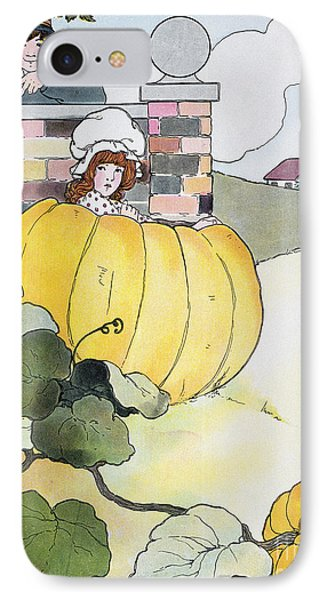 Mother Goose: Pumpkin IPhone Case by Granger