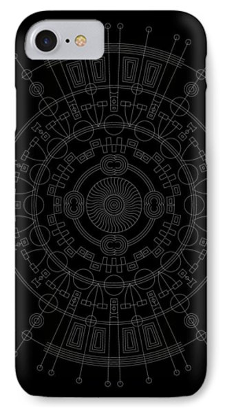 Mother Inverse Phone Case by DB Artist
