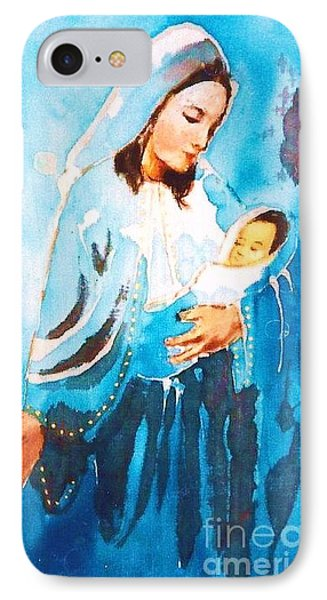 Mother Maria IPhone Case by Rose Wang