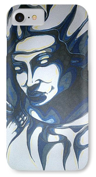 Mother Mary Concept Phone Case by Michael Toth