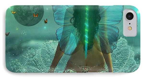IPhone Case featuring the digital art Mother Nature by Michael Rucker